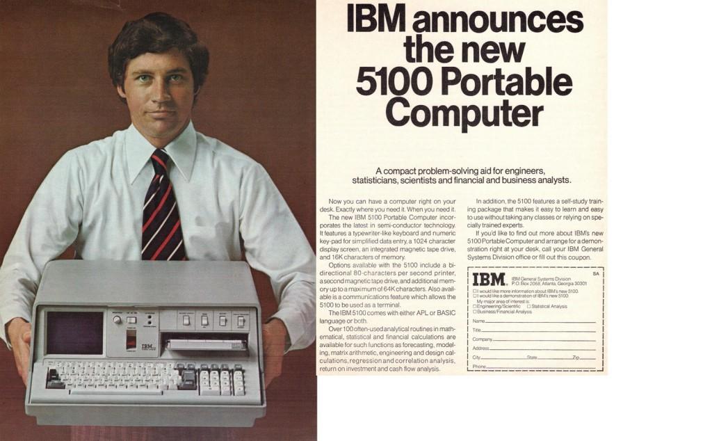 ibm 5100 advertising john titor